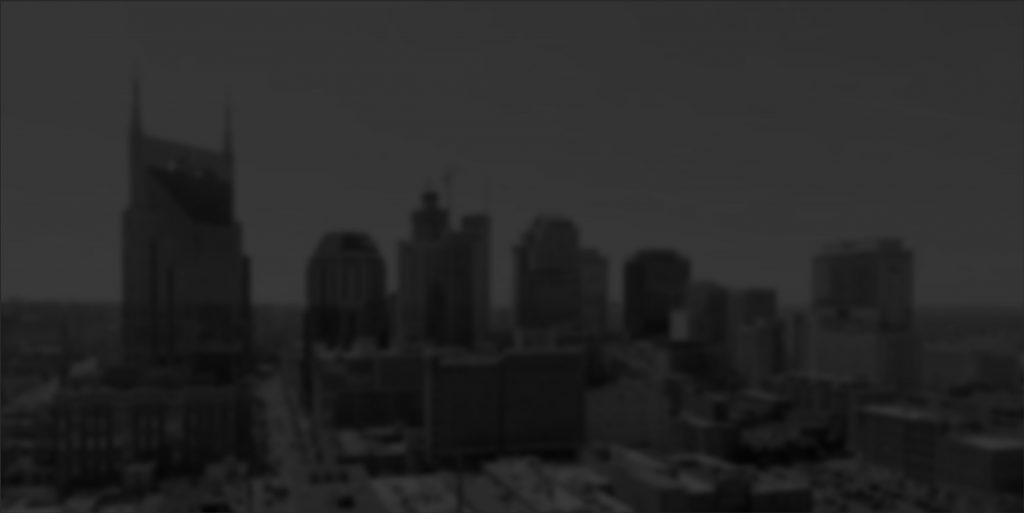 Nashville, skyline de la ciudad de TN