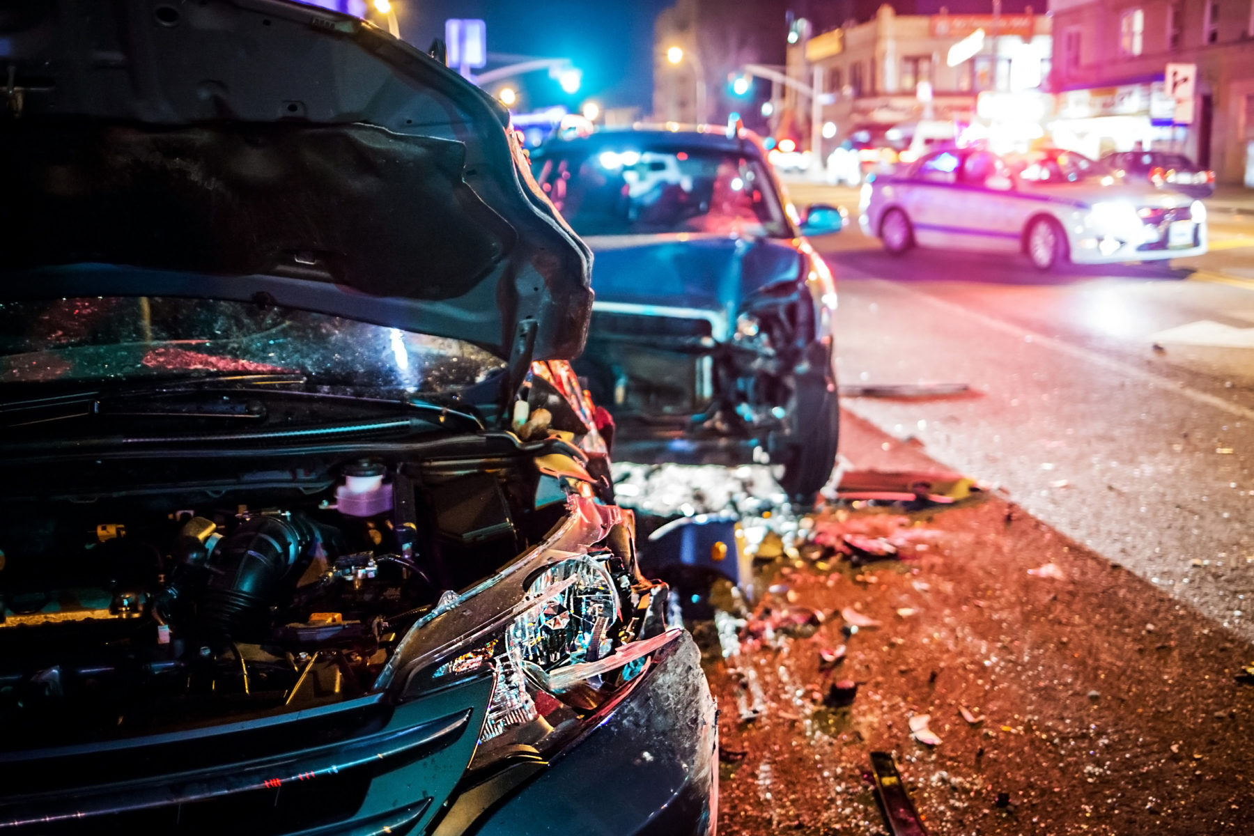Car accident in Smyrna, Tennessee