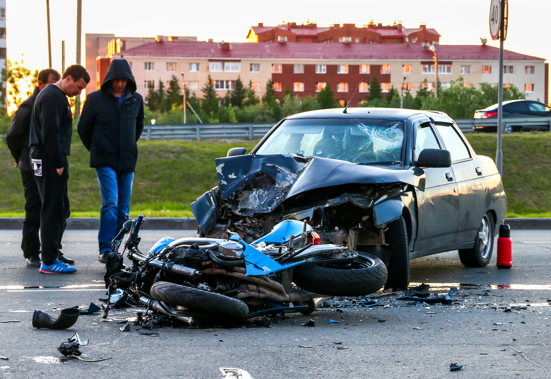 Motorcycle Accident in La Vergne, Tennessee